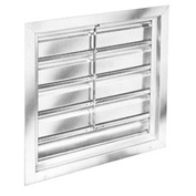 "Manual Shutters for 60"" Exhaust Fans"