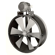 "24"" Explosion Proof Dry Environment Duct Fan - 3 Phase 1-1/2 HP"