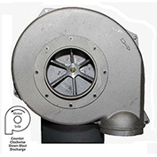 Americraft Aluminum Blower, HADP9-1-S-TE-CCWDB, 1 HP, 1 PH, TEFC, CCW, Downblast