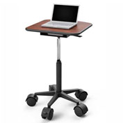 Best Mounting Adjustable Mobile Laptop Cart, Black