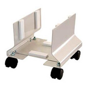 "CPU Cart On Wheels - Putty 10""W X 12""D X 9-1/2""H"