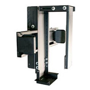 "Wall Mount CPU Holder  - Black 9""W x 20""D x 22""H"