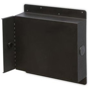 "Wall Mount CPU Enclosure - Gray 16""W x 6""D x 17""H"