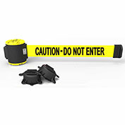 "Banner Stakes MH5002 - 30' Magnetic Wall Mount Barrier, ""Caution - Do Not Enter"" Banner"
