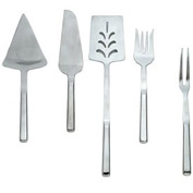 Alegacy 117PS Silvercrest Stainless Steel Pastry Server, Serrated Left Edge Package Count 12