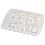 "Alegacy 1218ST - Crystal Serving Tray 12-3/16"" x 17-3/16"""