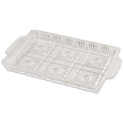 "Alegacy 170 - Crystal Serving Tray, 13-3/4"" x 8-1/4"" x 1-1/4"""