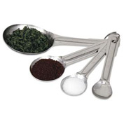 Alegacy 2316 - Measuring Spoon Sets, Round, Stainless Steel - Pkg Qty 12
