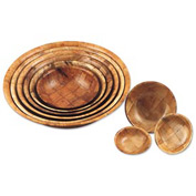 "Alegacy 3612 - Wood Salad Bowl, 12"" Dia. - Pkg Qty 4"