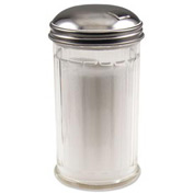 Alegacy 55SP - Plastic Sugar Shaker, Center Hole - Pkg Qty 2