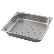 Alegacy 8122P - Half Size Perforated Steam Table Pan, 4 1/2 Qt. - Pkg Qty 12