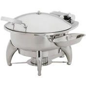 "Alegacy AL585A - 13"" Round Savoir™ Induction Chafer With Glass Cover"