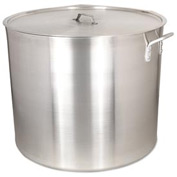 Alegacy AP100WC - 100 Qt. Heavy Duty Aluminum Stock Pot w/ Cover