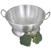 Alegacy CA1611 Aluminum Colander, Heavy Duty, 11 Qt. Package Count 2