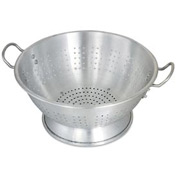 Alegacy CA1616 Aluminum Colander, Heavy Duty, 16 Qt. Package Count 2
