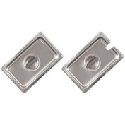 Alegacy CP8192 - 1/9 Size Flat Solid Cover For Steam Table Pan, 24 Ga. - Pkg Qty 12