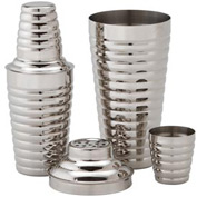 Alegacy CS577WC 30 Oz Cocktail Shaker With Cover And Strainer Package Count 12