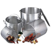 Alegacy EWSB60 - 60 Qt. Stock Pot, with Lid and Basket