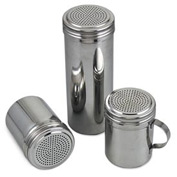 Alegacy SD2571 - Dredge, 12 Oz. Stainless Steel, Without Handle - Pkg Qty 12