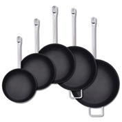 """Alegacy SSFPC14 - 18/8 Stainless Steel Fry Pan w/ Helper Handle PTFE Xtra 14"""""""