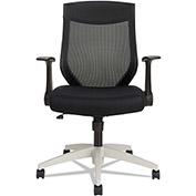 Alera Synchro Mesh Chair - Mid Back -  Black - EBK Series