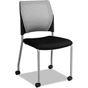 Alera Mesh Guest Chair - Black - 2 Pack