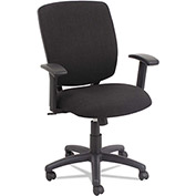 Alera Task Chair - Fabric - Swivel/Tilt - Anthracite