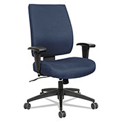 Alera® Synchro-Tilt Fabric Task Chair - High Performance - Blue - Wrigley Series