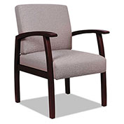 Alera® Fabric Guest Chair - Sandstone - Reception Lounge 700 Series