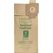 """NSS Compostable Vacuum Bag for NSS Pacer Models: 112 – 115UE (12"""" & 15"""" single motor)"""
