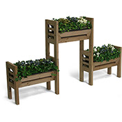 Stack'N Garden Planter Trio