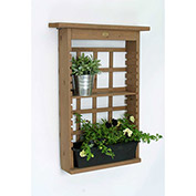 Garden View Vertical Planter and Shelving System Combo