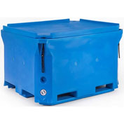 "Bonar Polar Insulated Box PB1000 - 2000 Lbs. Capacity 58""L x 46""W x 35""H, Blue"