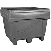 "Snyder Armor Bin 2036 - 2000 Lbs. Capacity 48""L x 44""W x 36""H, Molded Base, Gray"