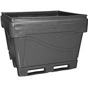 "Snyder Armor Bin 4036 - 2000 Lbs. Capacity 48""L x 44""W x 36""H, Rollover Pallet Base, Gray"