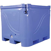 "Bonar Polar Insulated Box - 1700 Lbs. Capacity 48""L x 42-1/2""W x 38""H, Blue"