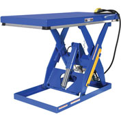 Vestil Rotary Air Powered Hydraulic Scissor Lift Table AHLT-3060-3-43 60x30