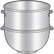 Univex 20 UBW Mixer Bowl For 20 Quart Univex Mixers (Manufactured After 1985), 20 Qt. Mixer