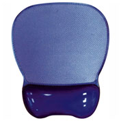 Aidata CGL003P Crystal Gel Mouse Pad Wrist Rest, Purple
