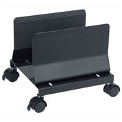 Aidata CS001EB Heavy Duty Mobile CPU Stand, Black