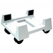 Aidata CS002M Basic Mobile CPU Stand, White