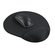 Aidata Standard Gel Mouse Pad, Black