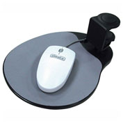 Aidata UM003B Under Desk Mouse Platform, Black