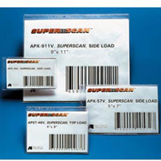 "Label Holders, 4"" x 6"", Clear, Full Magnetic (50 pcs/pkg)"