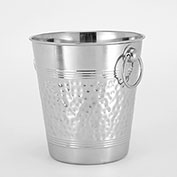 "American Metalcraft WB9 - Wine Bucket, 8-3/8"" High, Hammered"