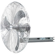 "Airmaster Fan 24"" I-Beam Mount Fan 20640K 1/4 HP 5739 CFM"