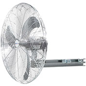"Airmaster Fan 30"" I-Beam Mount Fan 20880 1 HP 12400 CFM"