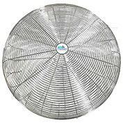 "Airmaster Fan 24"" Nickel Chrome Plated Guard 21070"