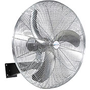 "Airmaster Fan 30"" Oscillating Wall Mount Fan 37135 1/3 HP 8402 CFM"