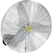 "Airmaster 30"" Oscillating Wall Mount Fan With Safety Cable Kit 71566 1/3HP 7800CFM"